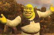 Shrek in una scena del film