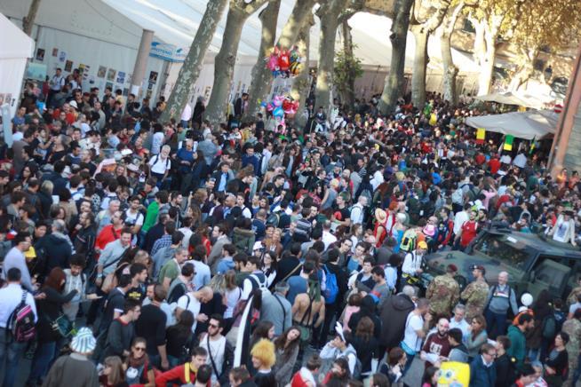 I fan partecipano in massa alla Lucca Comics & Games