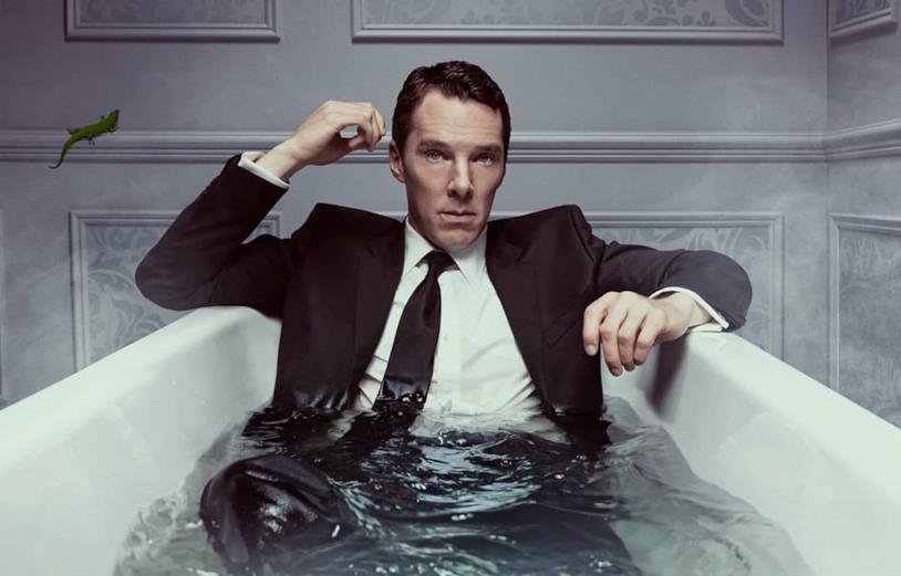 Patrick Melrose in una vasca