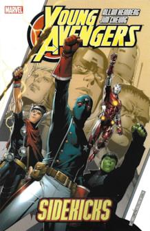 La cover del primo volume americano Young Avengers - Sidekicks