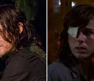 Norman Reedus e Chandler Riggs sono Daryl e Carl in The Walking Dead