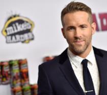 Ryan Reynolds durante il tour promozionale per il lancio di Deadpool