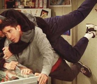 Ross Geller, Robert Kardashian e l'esilarante ossessione per il 'succo'!