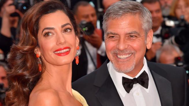 Amal e George Clooney al Festival di Cannes nel 2016