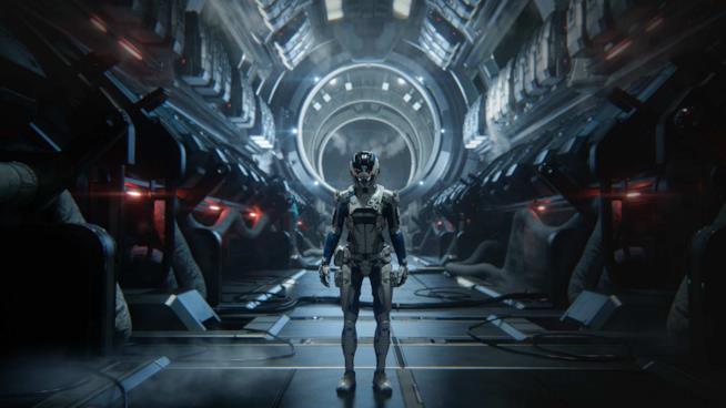 L'eroe di Mass Effect: Andromeda entra nella Tempest