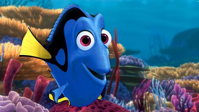 Dory nel film Disney Pixar