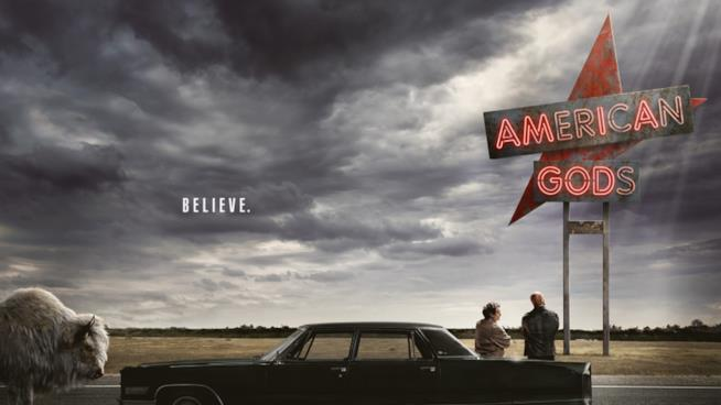 il poster di American Gods