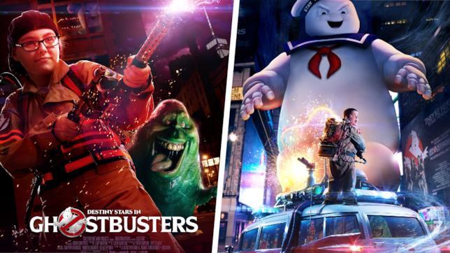 I poster creati per i bambini che partecipano a Ultimate Ghostbusters Experience