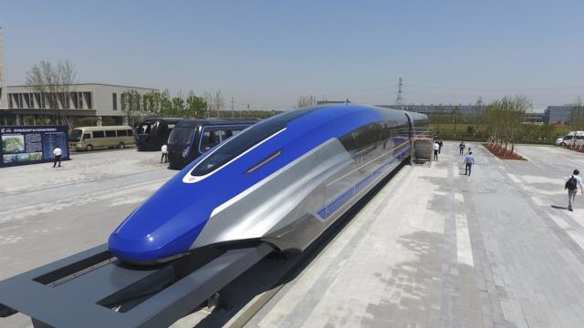 Cina, pronto il prototipo del treno a levitazione magnetica da 600 KMh