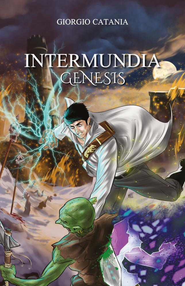 La cover del romanzo Intermundia: Genesis