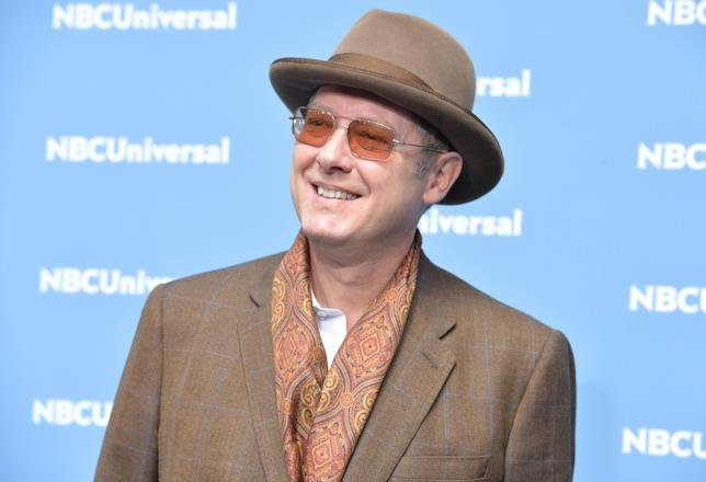 Il sorridente James Spader