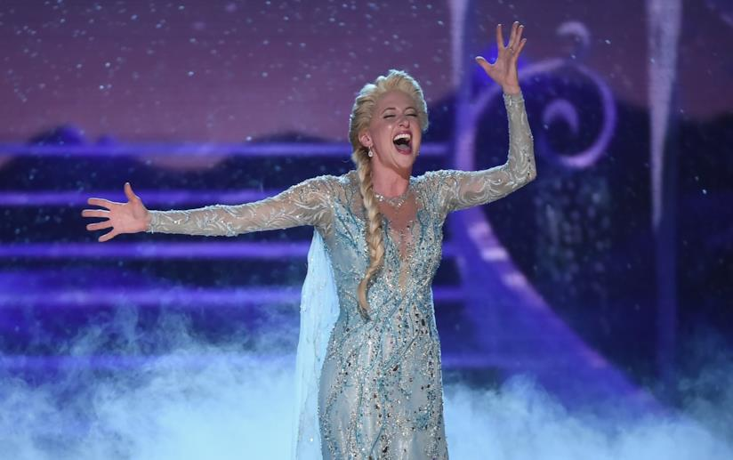 Un momento di Frozen ai Tony Awards 2018