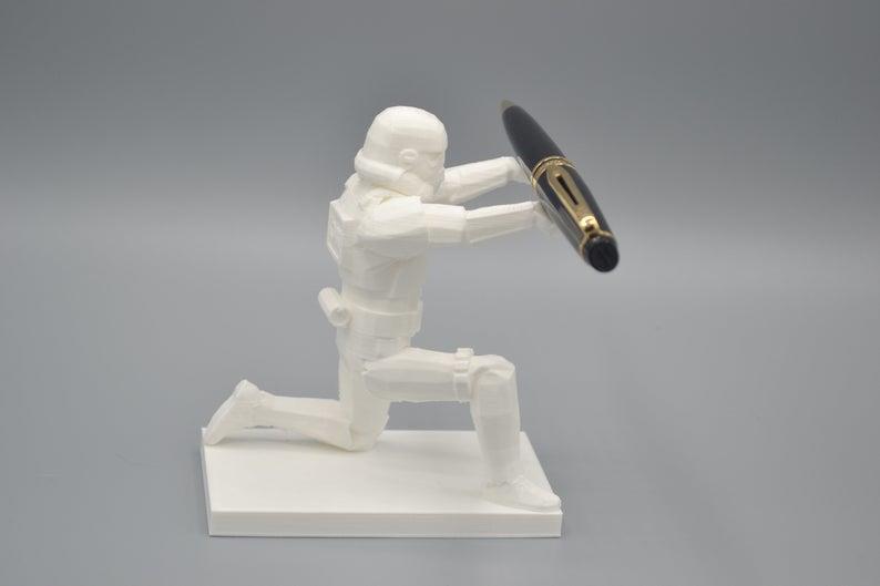 Il portapenna bianco dello Stormtrooper