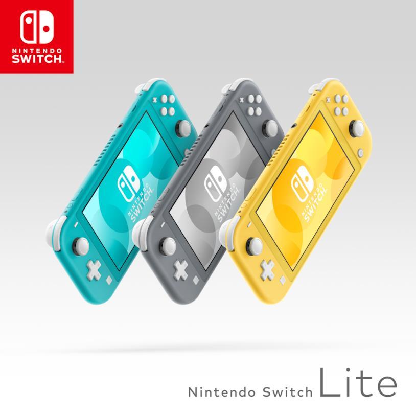 Immagine promozionale di Nintendo Switch Lite