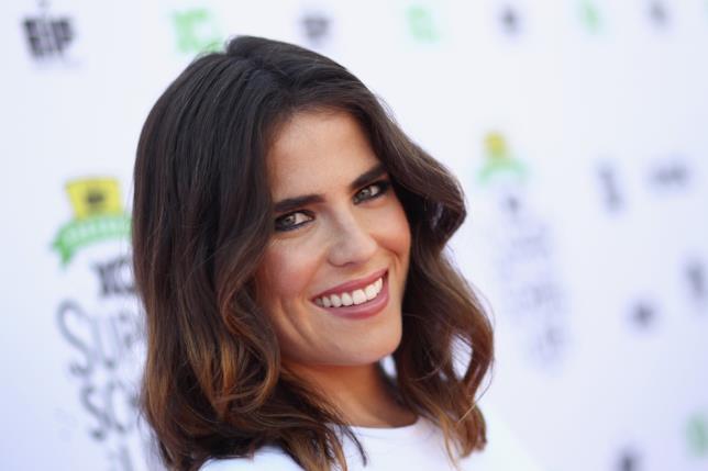 Il sorriso dell'attrice messicana
