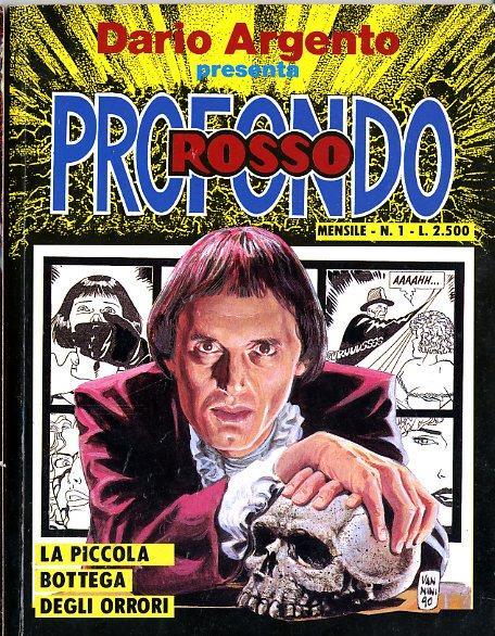 La copertina del primo volume della serie a fumetti horror di Dario Argento