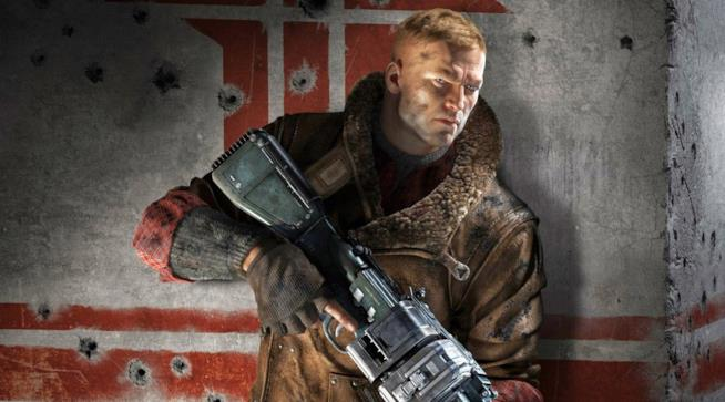 Il protagonista di Wolfenstein II: The New Colossus