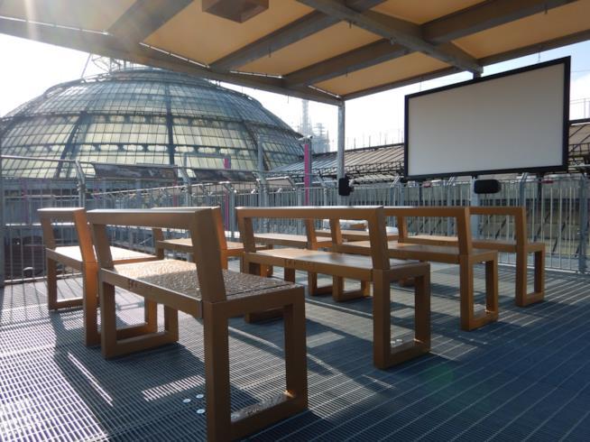 A Milano il cinema è sui tetti della Galleria Vittorio Emanuele II