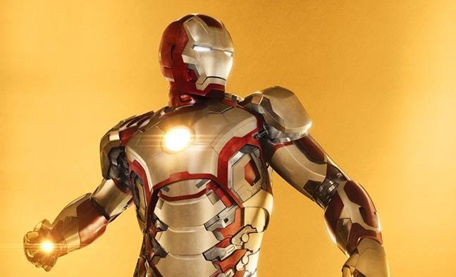 Character poster dedicato a Iron Man