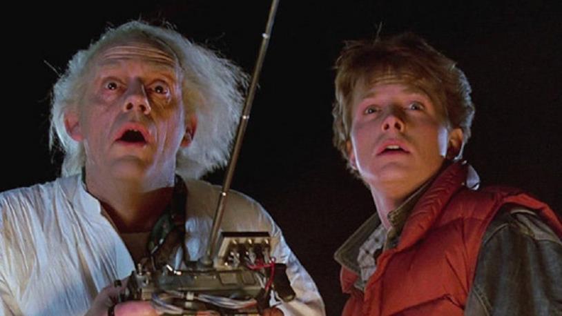 Doc e Marty, protagonisti principali di Ritorno al Futuro