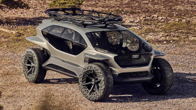 AI Trail, l'offroad elettrico di Audi, cattura l'attenzione al Salone di Francoforte