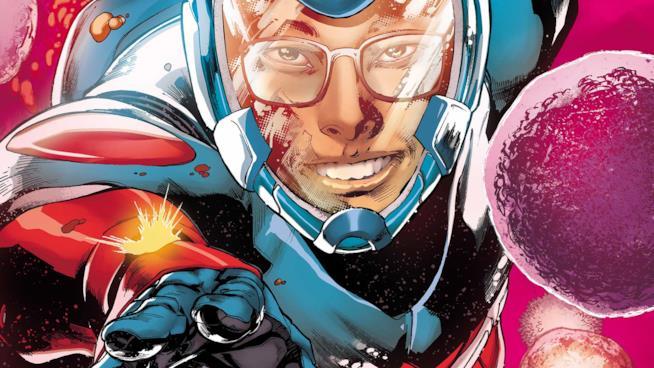 Un artwork ufficiale di Atom