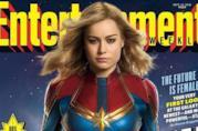 Brie Larson sulla nuova cover di EW
