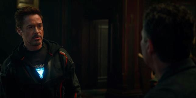 Tony Stark e Bruce Banner nello spot di Avengers: Infinity War