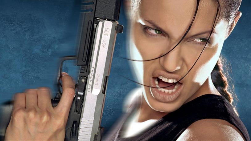 Angelina Jolie è Lara Croft al cinema
