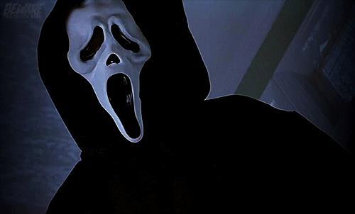 Ghostface in primo piano