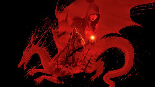 La copertina ufficiale di Dragon Age: Origins