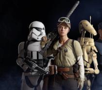 Alcuni dei combattenti di Star Wars Battlefront 2