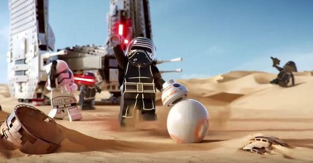Screen videogame LEGO Star Wars: The Force Awakens