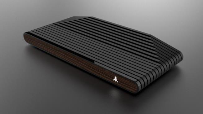 La versione nera e legno di Ataribox