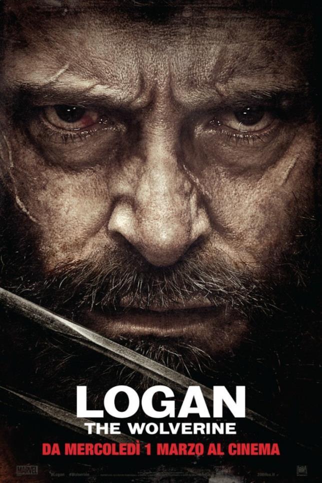 Il poster italiano ufficiale di Logan, uscito a marzo nelle nostre sale