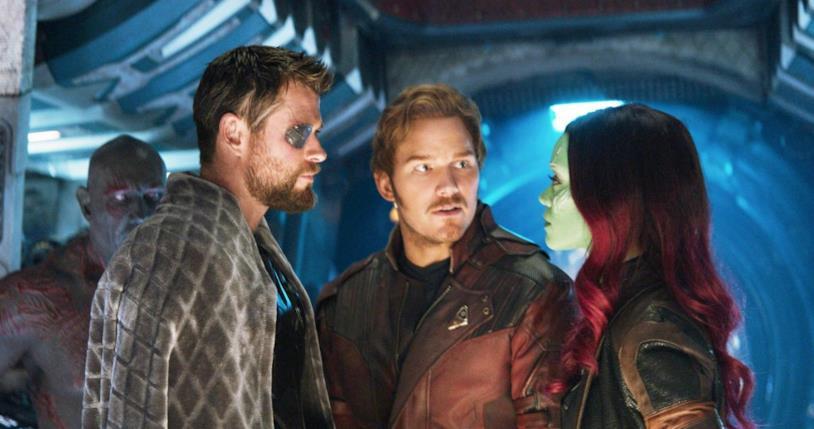 Un'immagine promozionale da Avengers: Infinity War