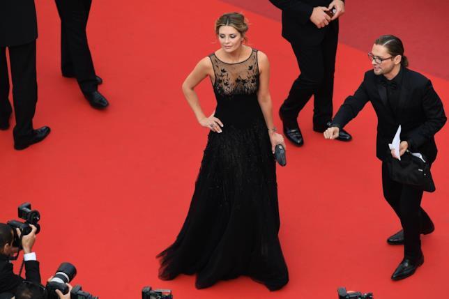 Mischa Barton sul red carpet del Festival di Cannes