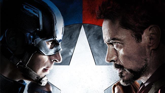 Captain America contro Iron Man