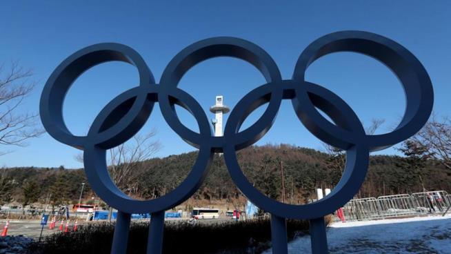 I 5 cerchi simbolo delle Olimpiadi