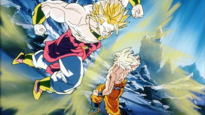 Broly vs Goku Z