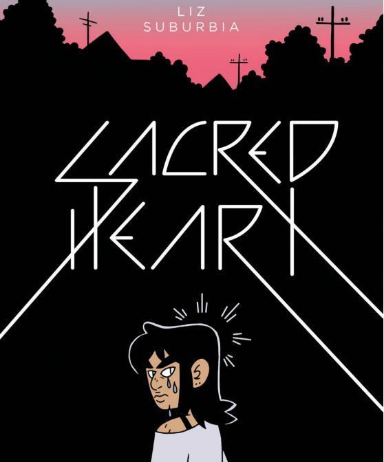La cover del fumetto d'esordio di Liz Suburbia