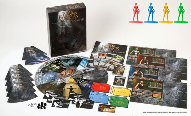 Tomb Raider Legends: The Board Game uscirà a febbraio del prossimo anno