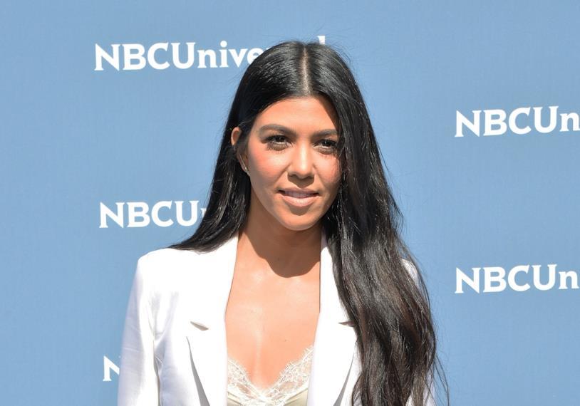 Primo piano di Kourtney Kardashian