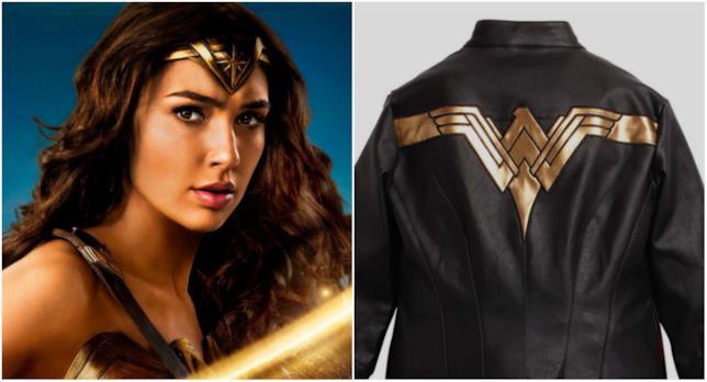 Wonder Woman e la sua giacca in pelle