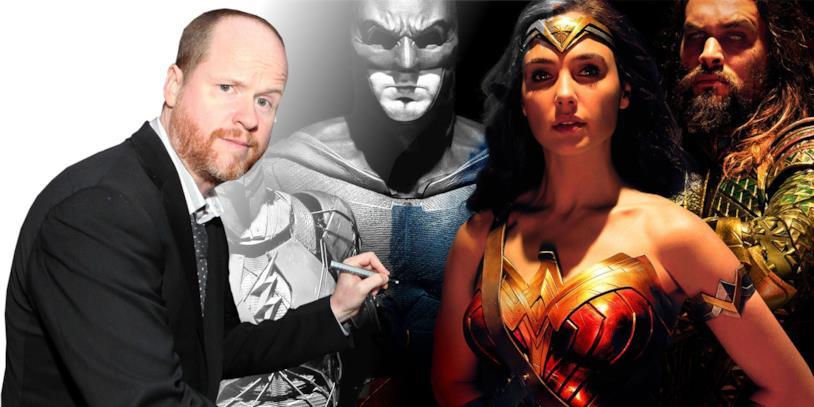 Joss Whedon firma un poster di Justice League