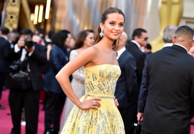 Alicia Vikander agli Oscar 2016