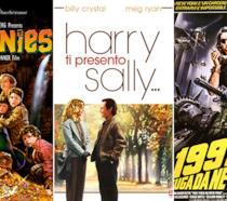 Le locandine dei film I Goonies, 1997 - Fuga da New York e Harry Ti Presento Sally