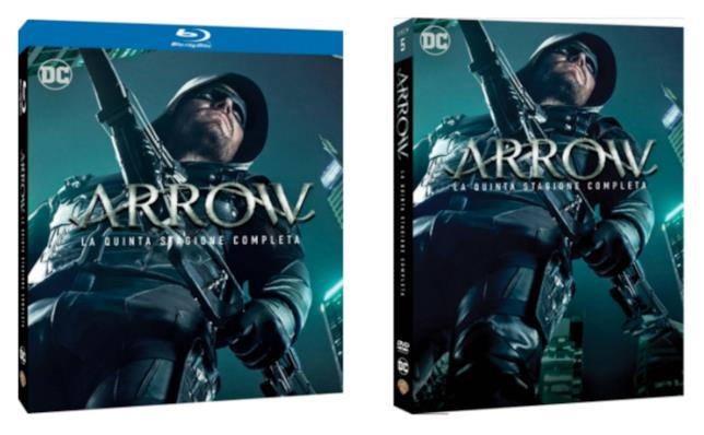 La quinta stagione di Arrow in Blu-ray e DVD