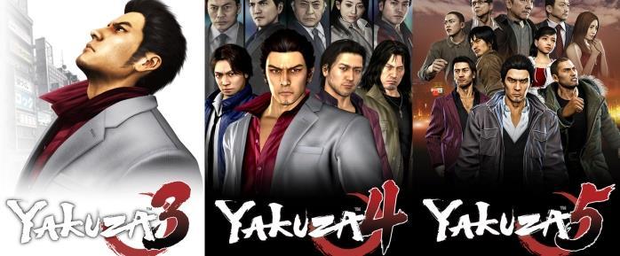 Yakuza tre episodi della remastered
