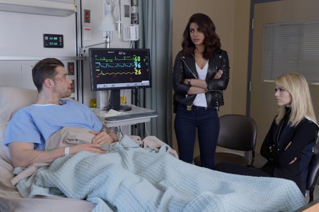 Alex e Shelby in ospedale con Drew